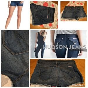 NWOT Hudson Denim Amber Raw Hem Shorts Size 29